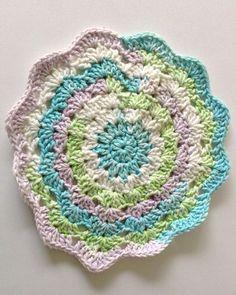 Maggie's Crochet · Dishcloths In The Round Crochet Pattern Set.  Maggie's