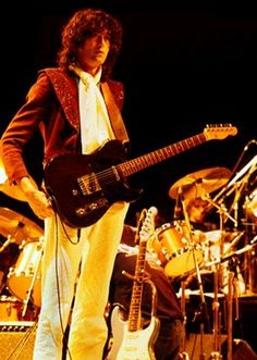 Jimmy Page with his B-bender Fender Telecaster
