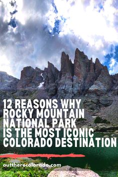 Planning a visit to Rocky Mountain National Park? Here are just a few reasons why it's one of the most iconic destinations in all of Colorado. #OutThereColorado #Travel #Colorado #ColoradoVacation #ColoradoSprings #Denver #Breckenridge #RockyMountainNationalPark #Mountains #Adventure #ColoradoFall #ColoradoPhotography #ColoradoWildlife #Mountains #Explore #REI #optoutside Solo Travel Tips, Travel Blog, Usa Travel Guide, Asia Travel, Travel Guides, Road Trip To Colorado, Visit Colorado, Colorado Springs, Most Visited National Parks