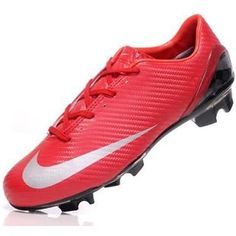 http://www.asneakers4u.com The latest Mens Soccer Cleats Nike Mercurial SL In Red Sliver OUT OF STOCK