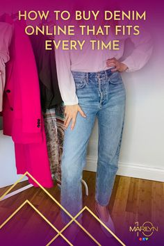We've all been there - lugging 20 pairs of jeans into the change room only to leave empty handed. Not anymore! Denim Shop, Denim Trends, Vintage Denim, Fast Fashion, Jeans Style, Empty, Mom Jeans, Stylists, Pairs