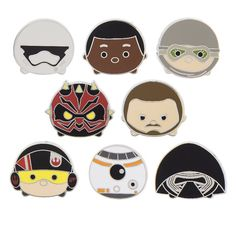 New Star Wars Tsum Tsum Series 2 Pins Released! | Disney Tsum Tsum. The new Star Wars Tsum Tsum Series 2 Pin collection includes 17 different pins including fan favorites Darth Maul, Kylo Wren and Qui-Gon Ginn.