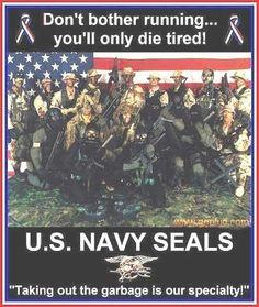 U.S. Navy SEALs..