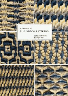 Slip stitch patterns