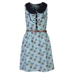 Yumi Camera Print Dress - USC