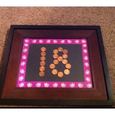 18th birthday present. 1 penny from every year since she was born