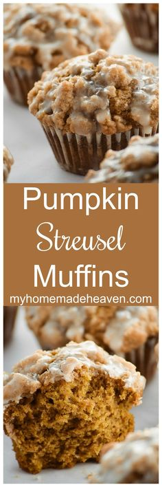 Streusel Muffins Pumpkin Streusel Muffins ~ incredibly moist and delicious pumpkin streusel muffins the whole family will love!Pumpkin Streusel Muffins ~ incredibly moist and delicious pumpkin streusel muffins the whole family will love! Fall Baking, Holiday Baking, Köstliche Desserts, Dessert Recipes, Baking Recipes, Cookie Recipes, Keto Recipes, Streusel Muffins, Muffins Blueberry
