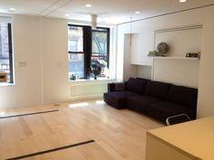 Living area wide open