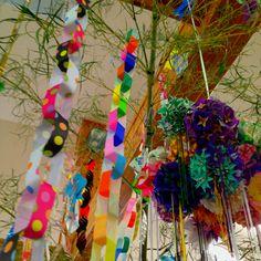 もうすぐ七夕ですね〜(^人^) Tanabata, Stage Design, Traditional Japanese, Sweet, Outdoor Decor, Home Decor, Candy, Set Design, Decoration Home