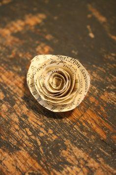 DIY Paper Roses, so easy and fun!