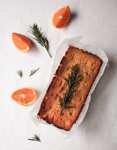 Swede, Rosemary and Orange Cake. This cake is naturally sweetened with an orange, maple syrup and rosemary syrup.