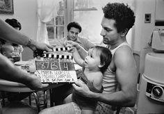 Robert De Niro and Joe Pesci on the set of Raging Bull