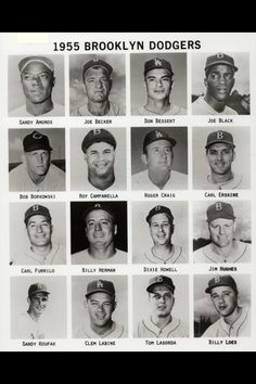 I can't explain the LA caps, or the one from a completely… 1955 Brooklyn Dodgers. I can't explain the LA caps, or the one from a completely different franchise. Let's Go Dodgers, Dodgers Baseball, Baseball Players, Dodgers Today, Baseball Cards, Ny Mets, New York Yankees, Dodgers History, Mlb The Show