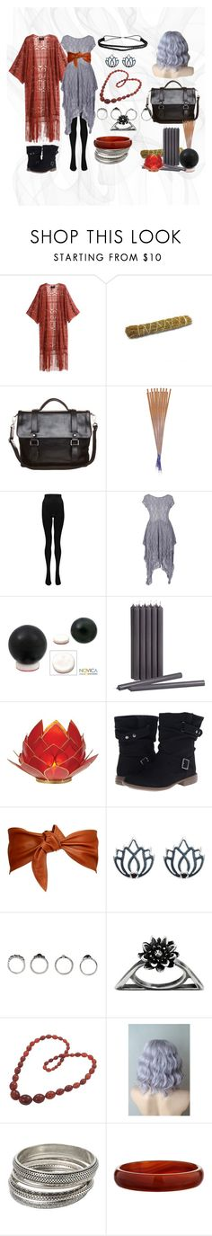 """""""Smoke-Scryer Oracle"""" by lvl40 ❤ liked on Polyvore featuring H&M, Picard, ila-spa, Boohoo, NOVICA, CB2, Skechers, Calvin Klein, Melissa Odabash and Glenda López"""