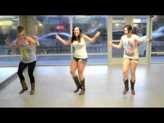 Line Dance Riverbank Stomp - YouTube Fun!
