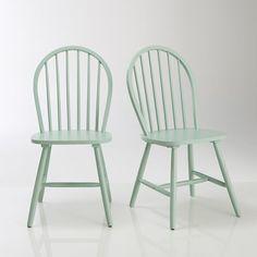 Chaise d 39 colier lot de 2 hiba souvenirs for Chaise barreaux