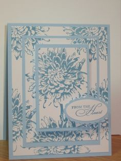CAS - Blooming with Kindness by Tracy_Lee - Cards and Paper Crafts at Splitcoaststampers Easy Cards, Cool Cards, Tracy Lee, Play Your Cards Right, Project 11, Fancy Fold Cards, Stamping Up Cards, Sympathy Cards, Happy Birthday Cards