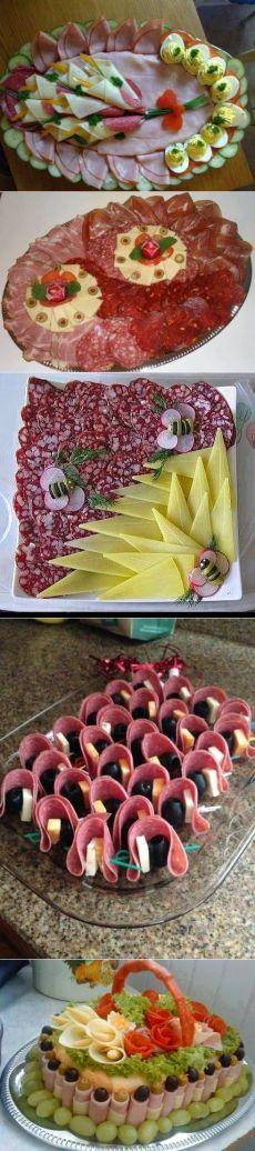 Украшение блюд к праздничному столу - Полезное каждый день!