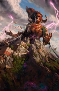 Legends walk among us in this Magic the Gathering: Born of the Gods art The Elder Scrolls, High Fantasy, Fantasy Art, Science Fiction, Character Art, Character Design, Mtg Art, 3d Max, Wizards Of The Coast