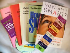 Dr. Koch describes these eight intelligences:      Word Smart – thinking with words     Logic Smart – thinking with questions     Pictur...