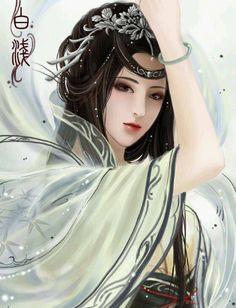 Đông Phương Ngọc Ngọc giai sinh bạch lộ  Dạ cửu xâm la miệt  Dục hạ thuỷ tinh liêm  Linh lung vọng thu nguyệt