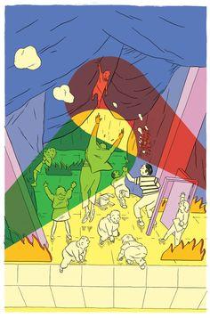 Redaksjonelle illustrasjoner - Esben Slaatrem Titland