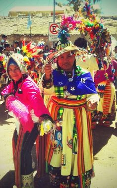 Localidad de Ayquina, Baile Tinku. Región de Antofagasta. Chile