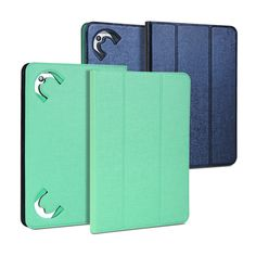 Universal Tablet Case for 7 to 8 inch tablet-Denim Blue and Mint Reversible Case