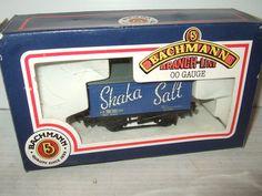 Bachmann 33-179, 10 Ton Covered Salt Wagon for Shaka Salt in OO Gauge.