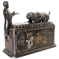 1882 Bulldog Savings Mechanical Bank