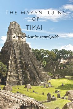 A comprehensive travel guide to help you plan your trip to the ancient Mayan ruins of Tikal.