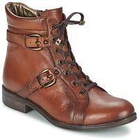 Shoes Women Mid boots Andrea Conti SANO Cognac