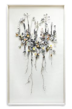Flower Constuctions by Anne Ten Donkelaar http://anneten.nl