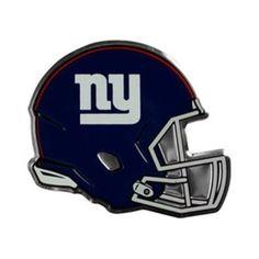 New York Giants Helmet Auto Emblem - (Promark), As Shown