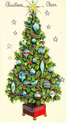 Old Christmas Post Cards — (488x900)