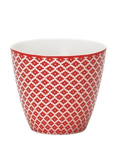 Judy Latte Cup red