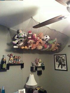 80 Creative Stuffed Animals Storage Ideas https://www.futuristarchitecture.com/11948-stuffed-animals-storage.html