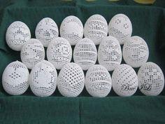 Horgolt tojások 16