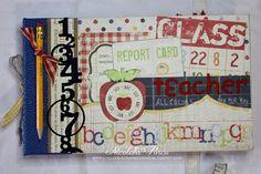 """I Love Scrapbooking: Album per la maestra - """"Teacher all colors are for you"""" - 1^ parte"""