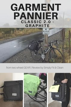 Product Review | Garment Pannier Classic 2.0 Graphite | two wheel GEAR