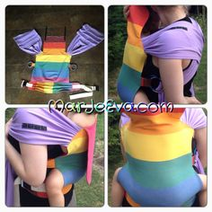 Diy baby carrier mei tai wraps new ideas Mei Tai, December Baby, Baby Carrying, Handmade Baby Clothes, Baby Sewing Projects, Diy Couture, Baby Wraps, Kids Store, Baby Accessories