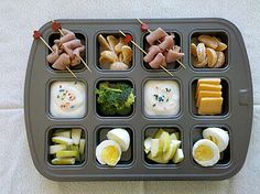Muffin Tin Meals Creative Healthy ways to feed your kids.