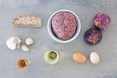 Σουτζουκάκια Πολίτικα Hamburger Meat Recipes, Greek Recipes, Eggs, Breakfast, Food, Morning Coffee, Hamburger Steak Recipes, Eten, Greek Food Recipes