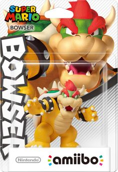 Bowser amiibo (Super Mario Collection). Coming next month!