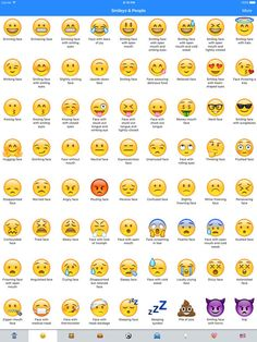 See price drops for the iOS Universal app Emoji Meanings Dictionary List. Whats does Emoji mean? Get the meanings of all Emojis :) For example, the meaning Iphone Emoji Meanings, Emojis Meanings, Le Emoji, Smiley Emoji, Emoticon Meaning, Emoji Chart, Emoticons Code, Emoji Signs, Emoji Names