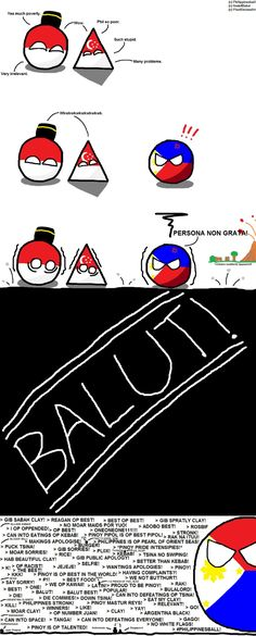 Countryballs comics Poland Country, Country Art, Fun Comics, Pinoy, Kawaii, History, Geography, Balls, Freedom