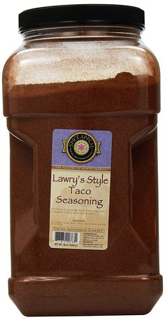 Spice Appeal Lawry's Style Taco Seasoning, 80 Ounce *** Awesome product. Click the image - Fresh Groceries