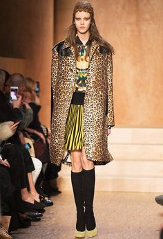 Givenchy's leopard print mash-up has us hooked this autumn 2016.