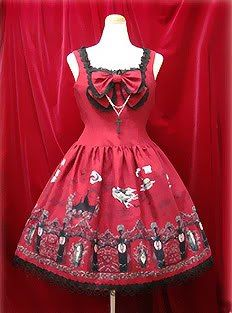 Alice and the pirates - Vampire requim jsk - this is one of my dream dresses!