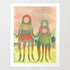 Love+Creatures+Art+Print+by+Lindsay+Watson+-+$15.00